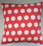 "Cushion Cover in Cath Kidston Big Spot Red 14"" 16"" 18"" 20"""